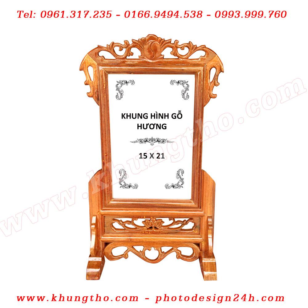 khung ảnh thờ bằng gỗ